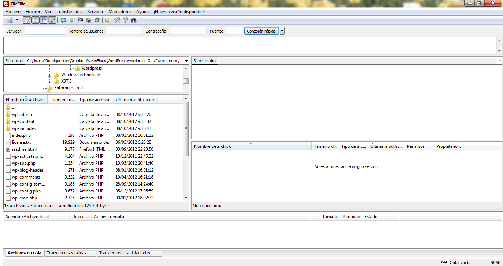 Captura - Filezilla
