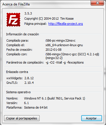 ayuda - Filezilla - Gratis - Software Libre