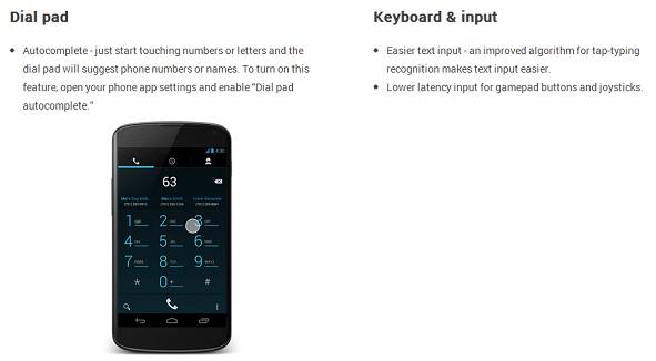 nuevo dialpad android 4.3