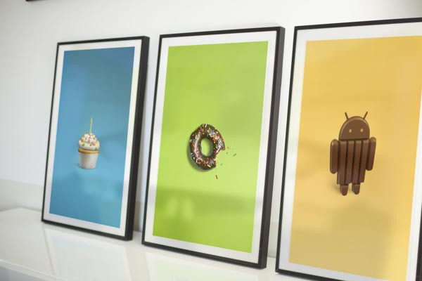 Versiones sistema operativo android
