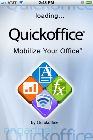 captura de dispositivos movil quickoffice
