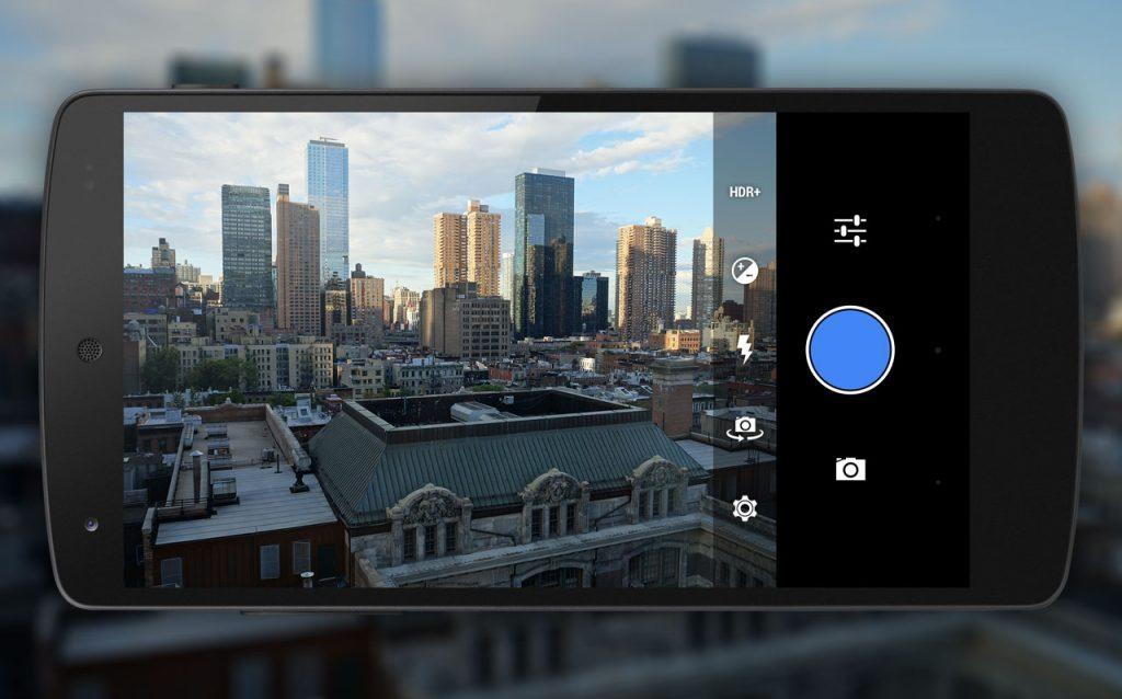 diseño camara android 4.5