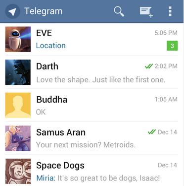 contactos app telegram
