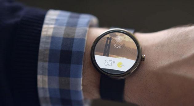 reloj inteligente de google android