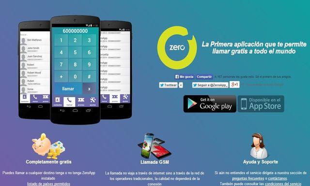 presentacion de zero app