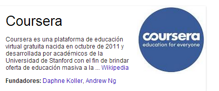Descripcion de wiki de coursera