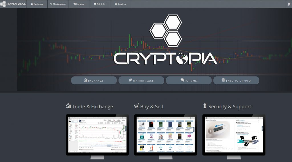 Echnage Cryptopia referido