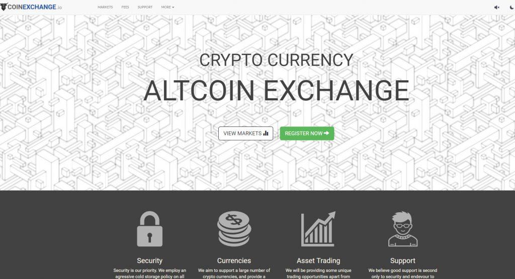 CoinExchange criptomonedas