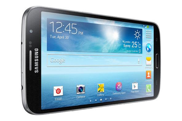 Movil de Samsung con pantalla enorme
